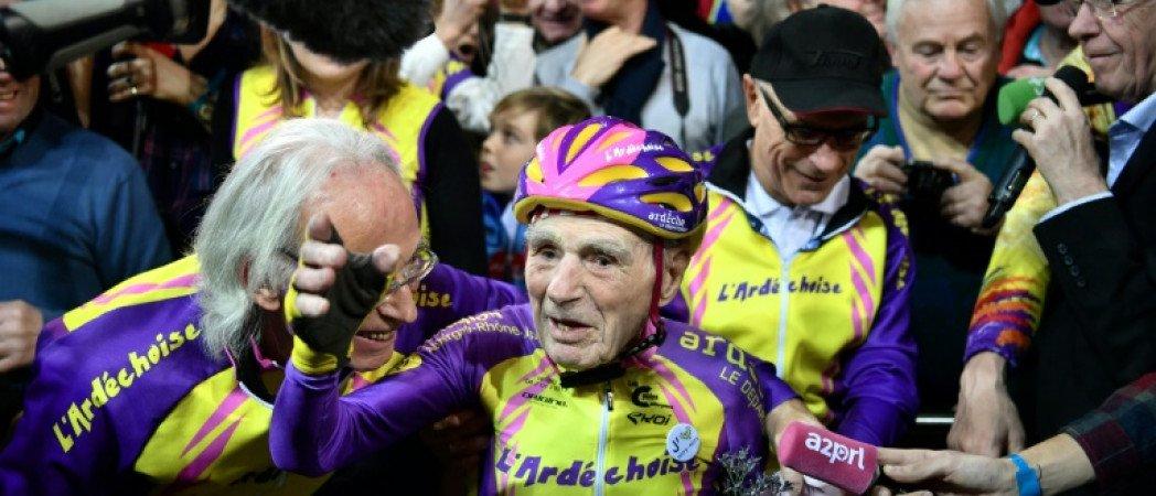 В память велосипедиста, коммуниста Робера Маршана