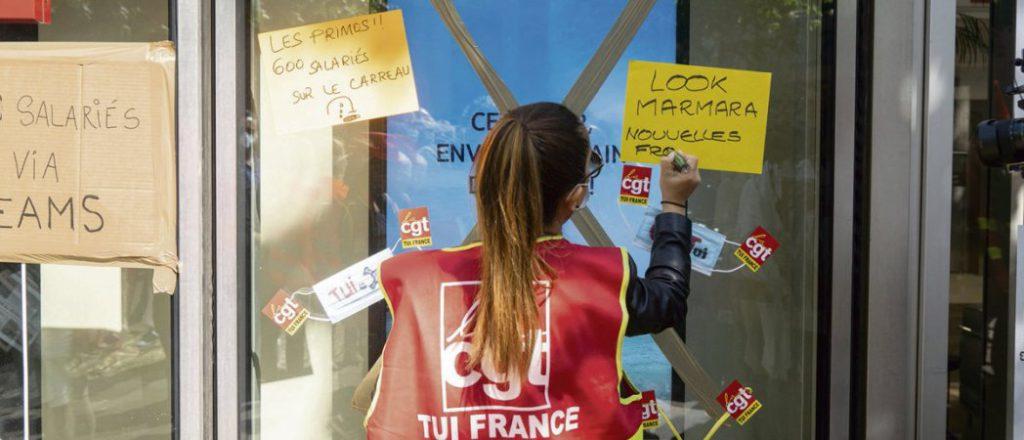 Победы профсоюзных активистов Tui France