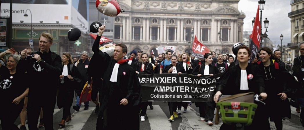 Протесты работников системы правосудия