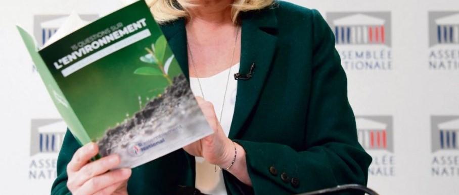 Экологический блеф Марин Ле Пен