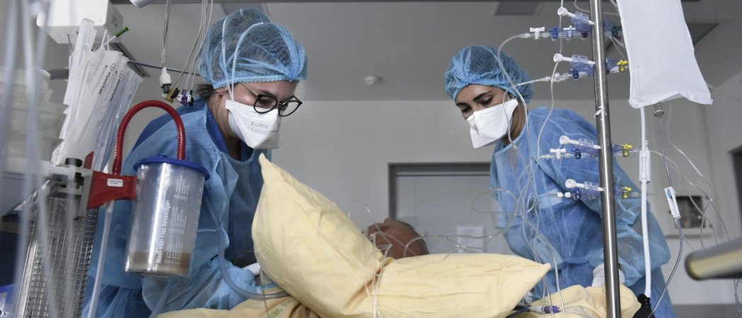 Французские больницы в условиях четвёртой волны