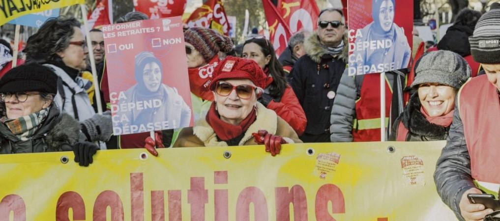 Пенсионеры выходят на улицы