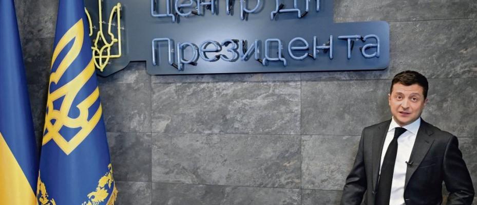 Владимир Зеленский в ящике Пандоры